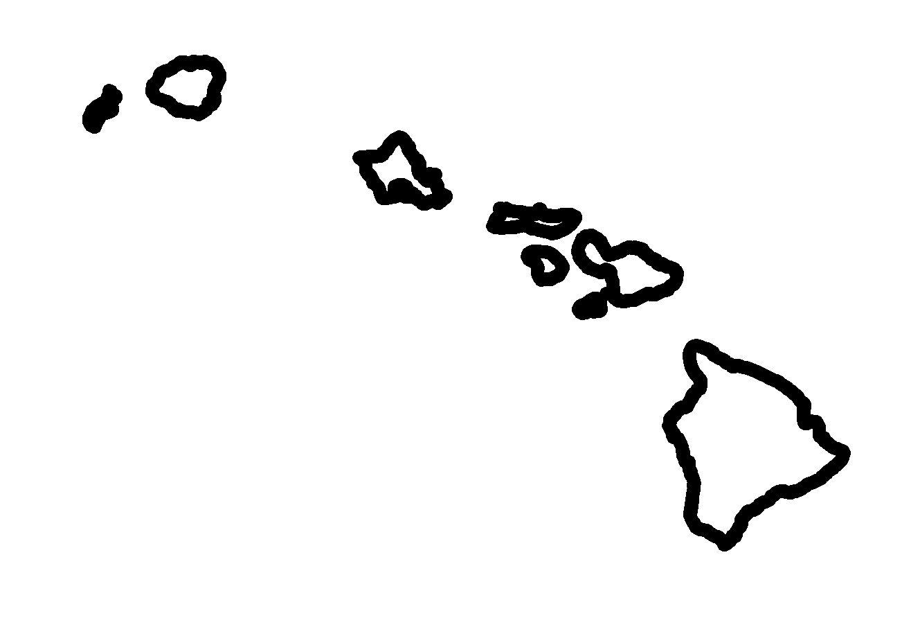 Hawaiian Islands Clipart