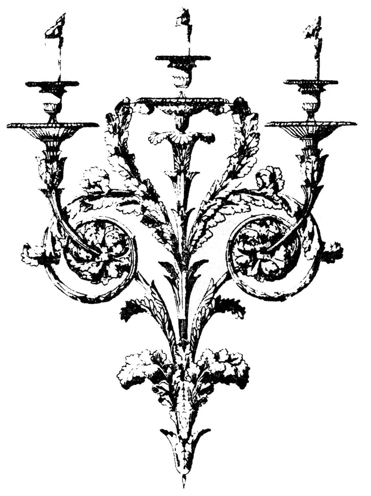 Free Candelabra Cliparts Download Free Clip Art Free