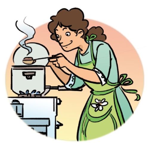 Cooking Dinner Clipart Clip Art Library