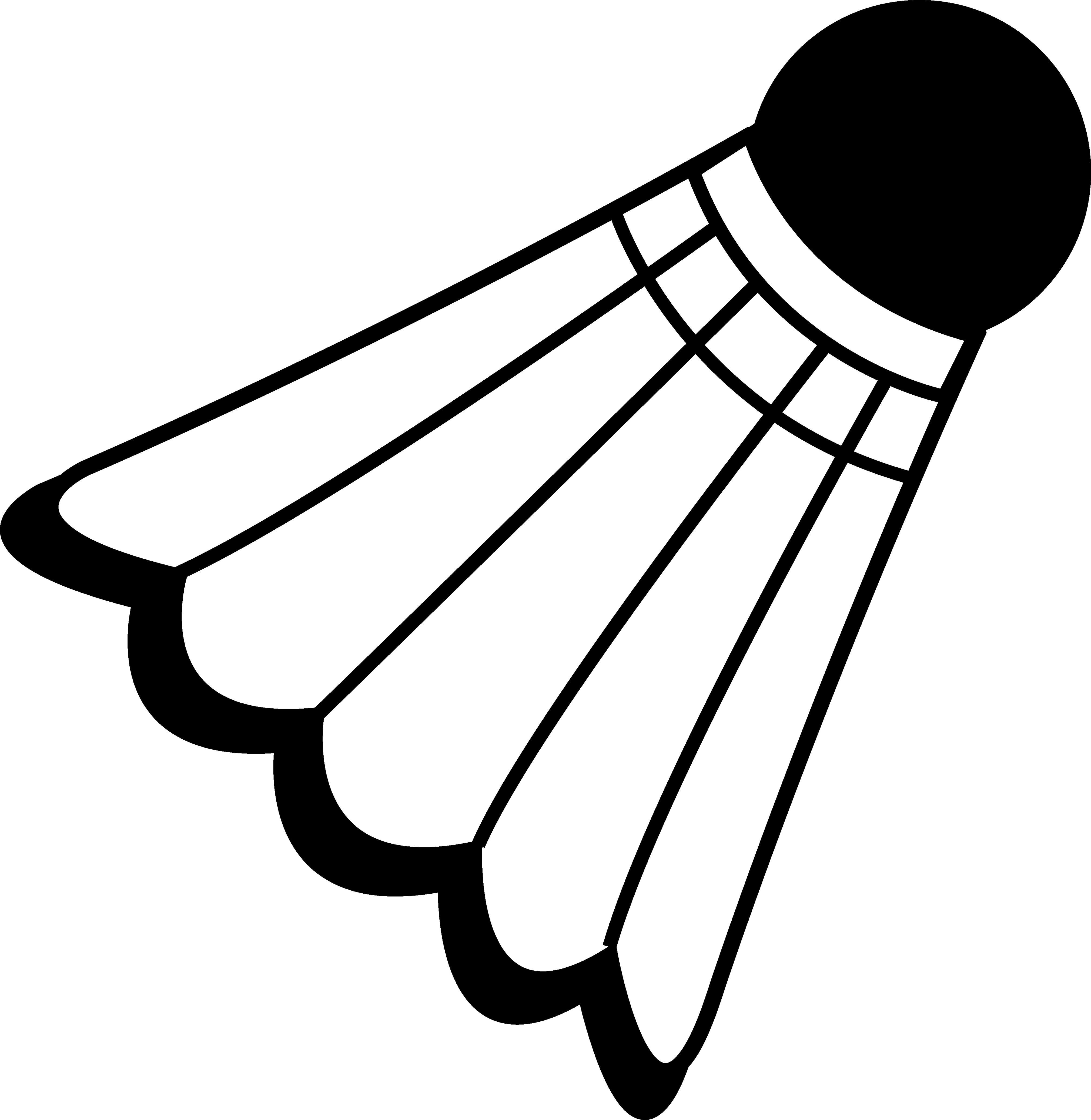 Free Badminton Silhouette Cliparts Download Free Clip Art