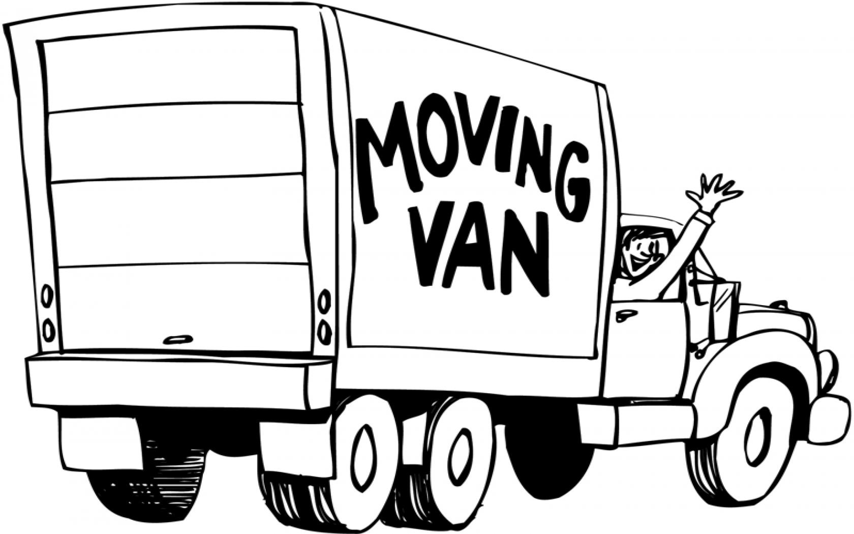 Removal Van Clipart