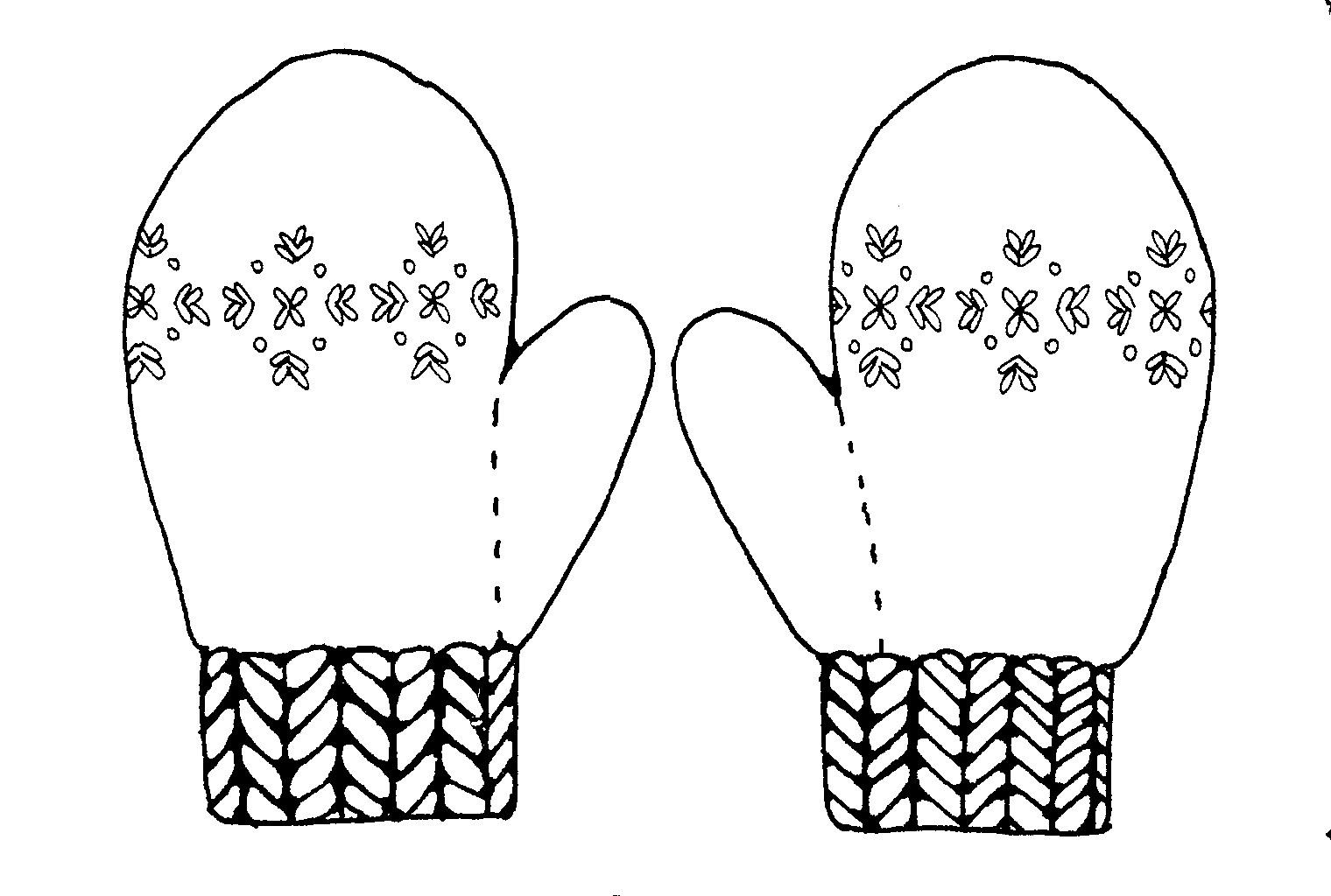Free Colorful Mitten Cliparts Download Free Clip Art