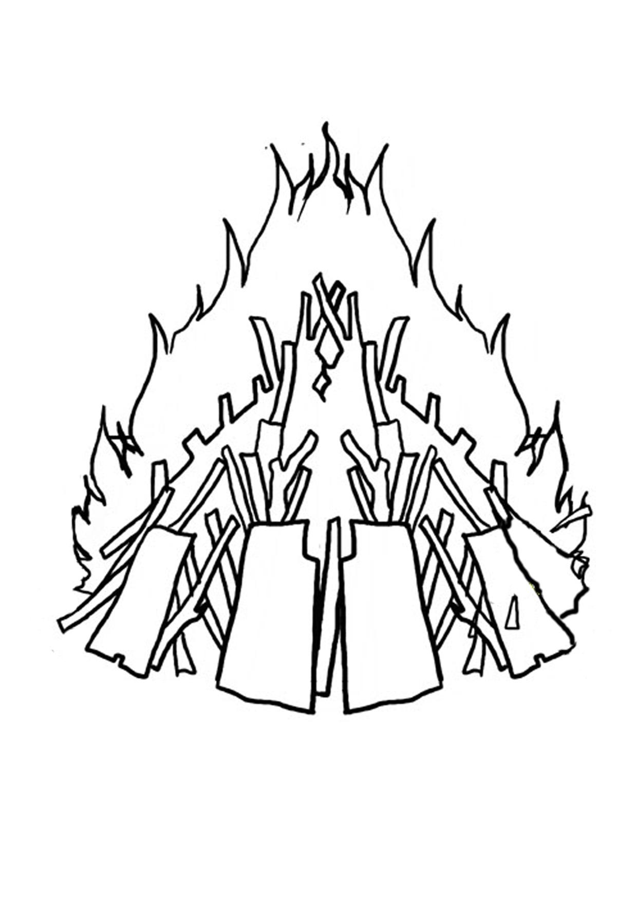 Free Bonfire Cliparts Black Download Free Clip Art Free