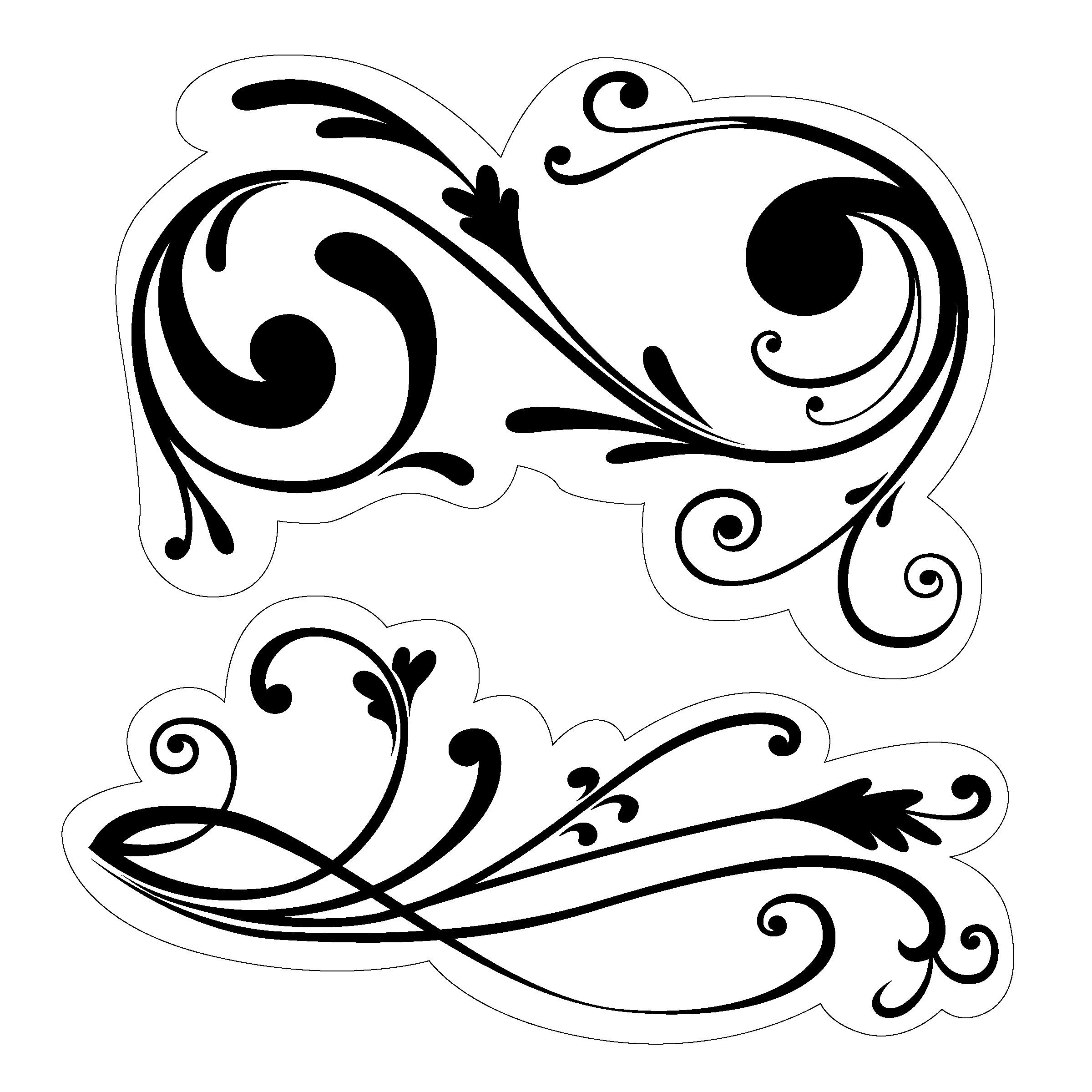 Free Filigree Edge Cliparts Download Free Clip Art Free
