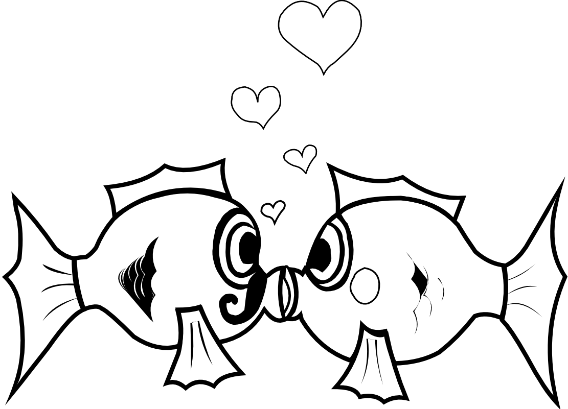 Free Fishing Valentine Cliparts Download Free Clip Art Free Clip Art On Clipart Library