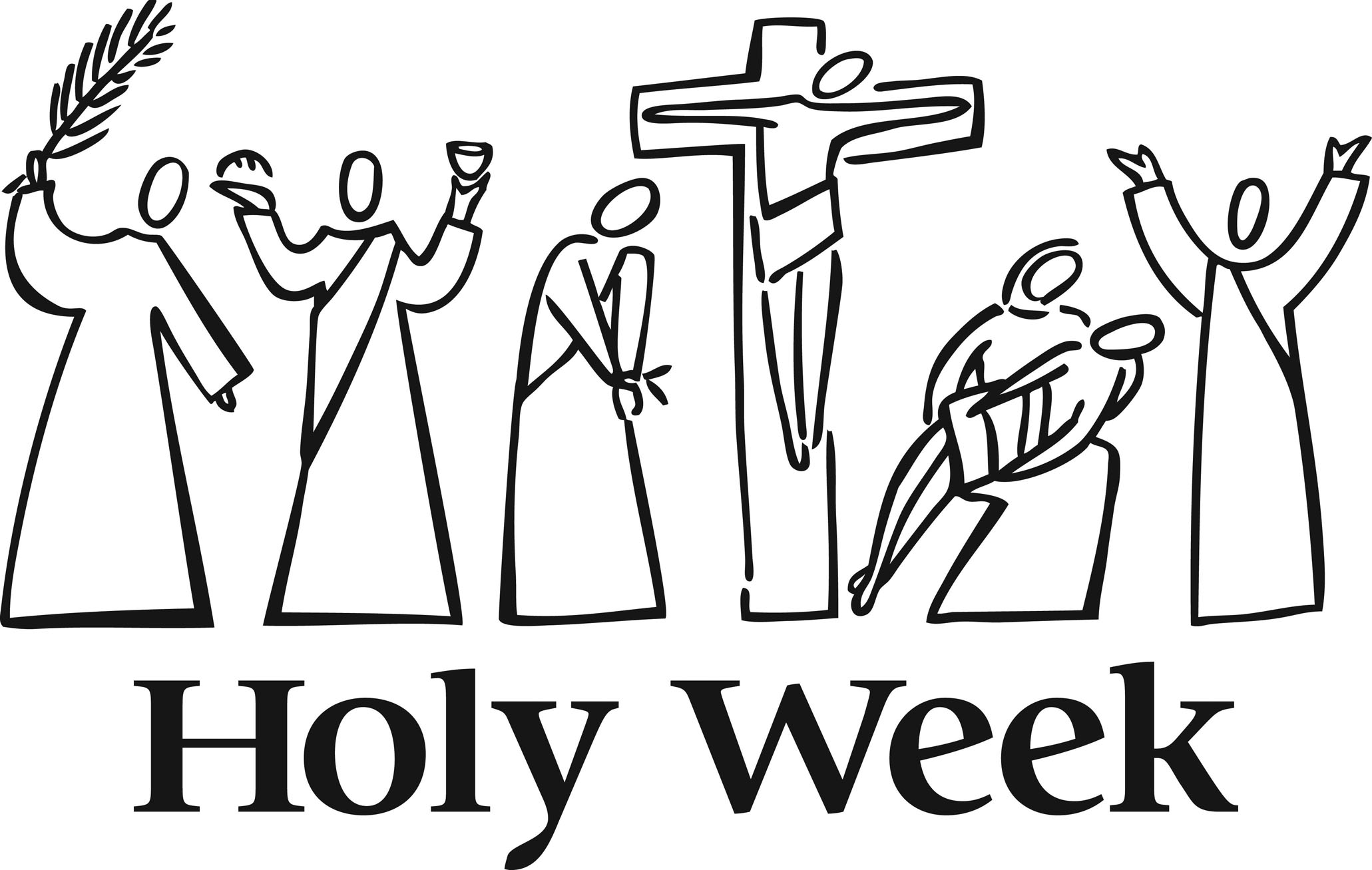 Easter Holy Week Clipart