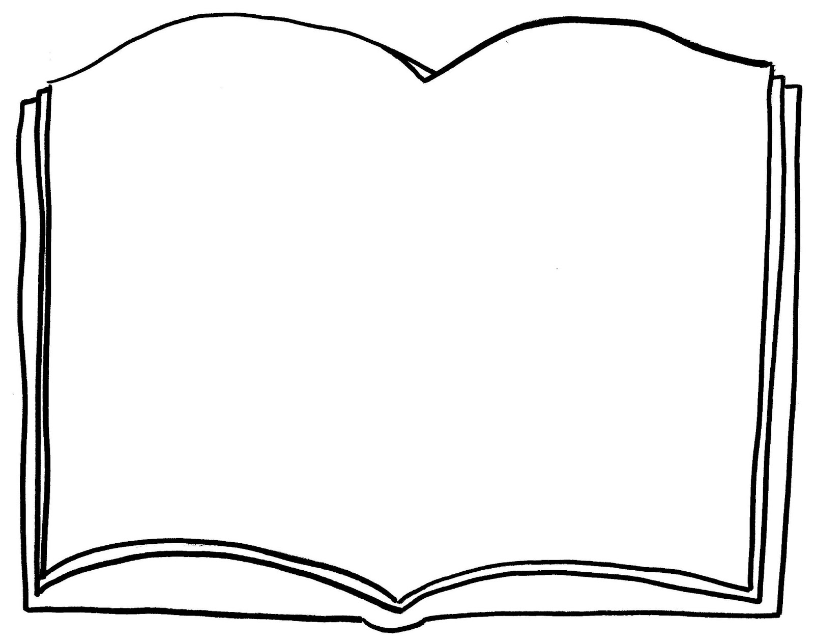Free Open Book Colouring Pages Download Free Clip Art