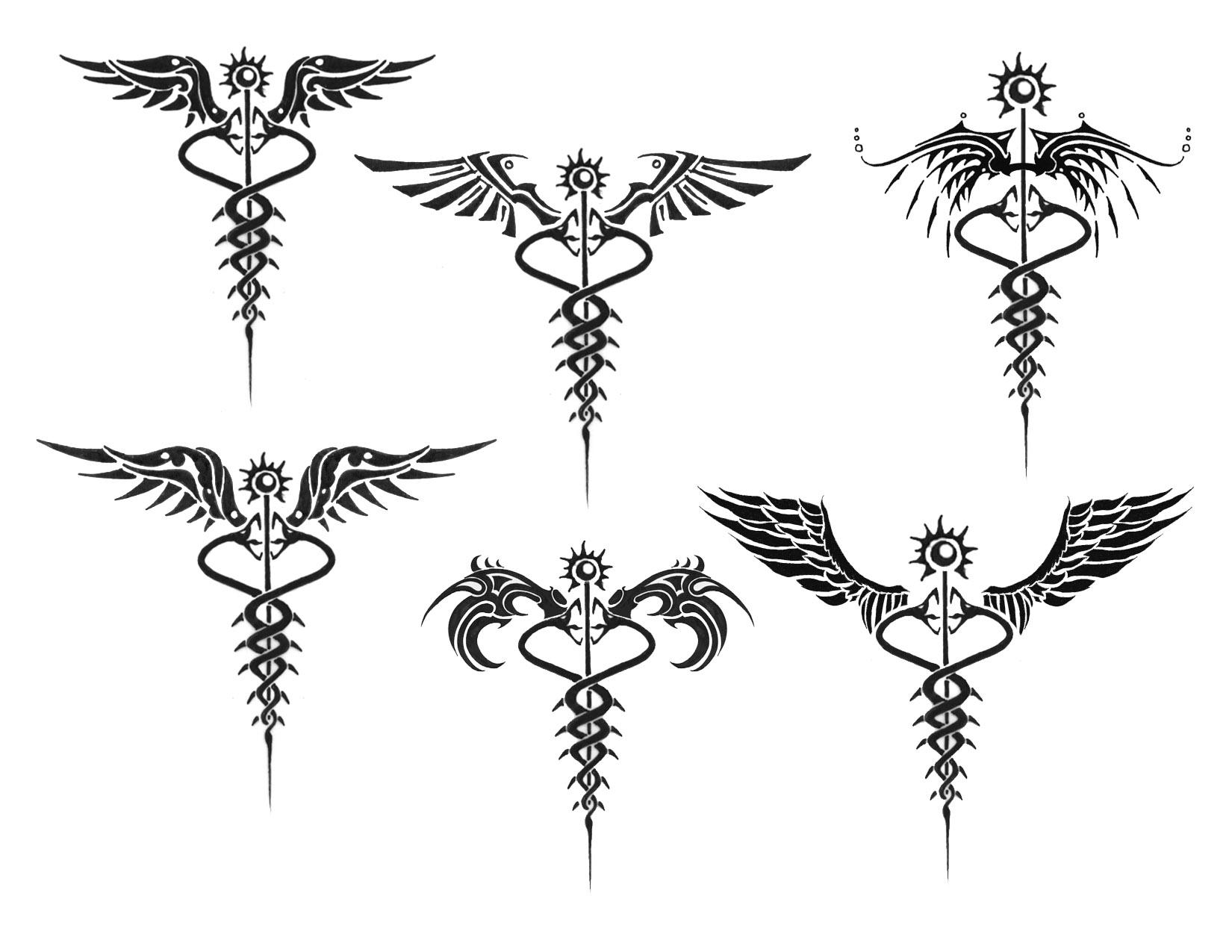 Gallery For Caduceus Rn Tattoo Wrist