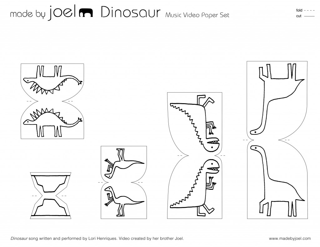 Made By Joel Dinosaur Music Video Paper City