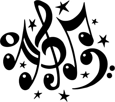 Pix For  Music Notes Clip Art Free