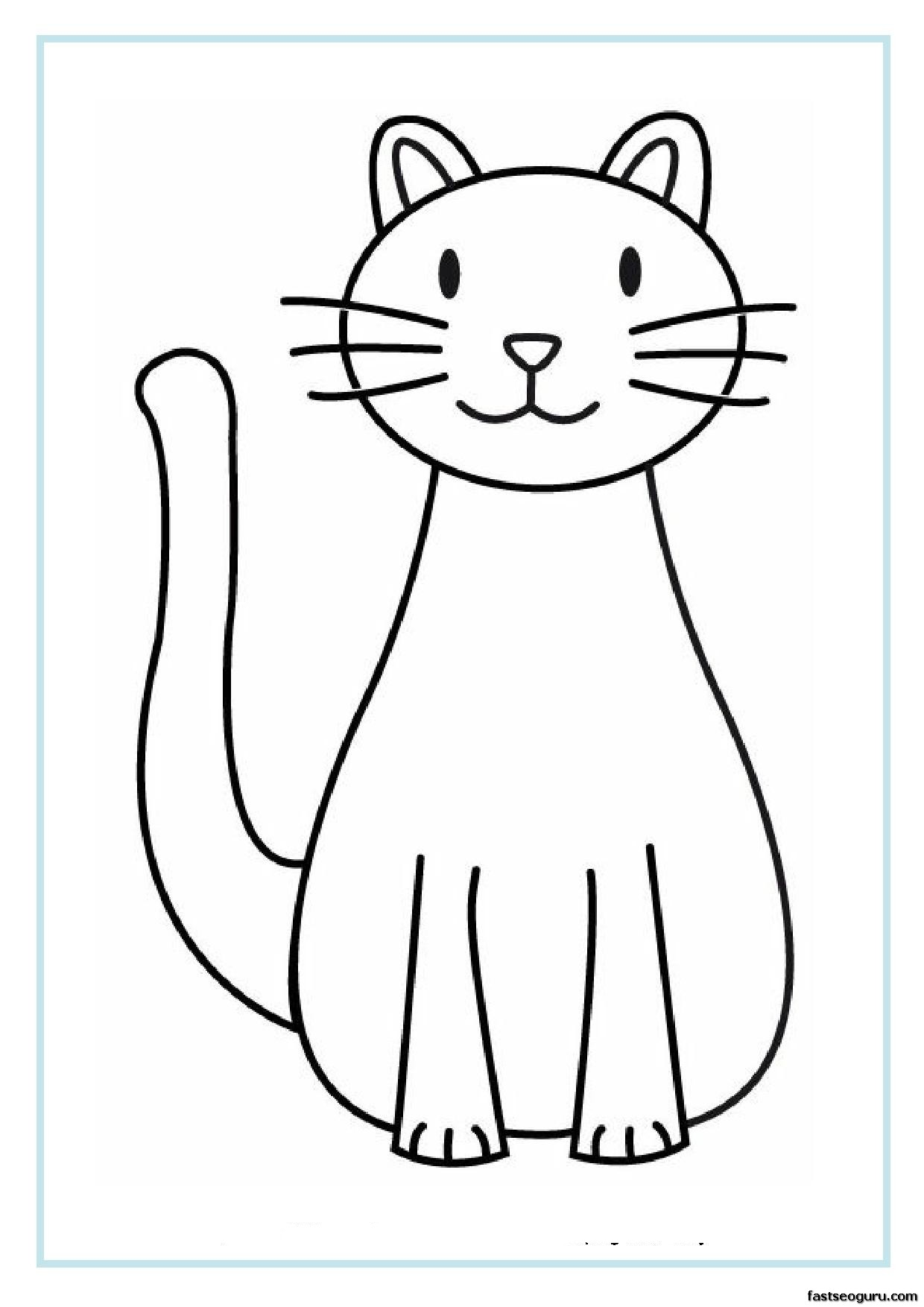 Free Free Printable Cat Pictures Download Free Clip Art