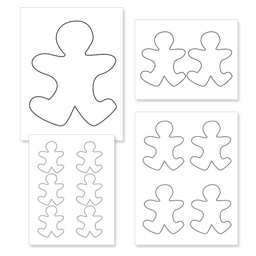 Free Gingerbread Man Outline Download Free Clip Art Free Clip Art On Clipart Library