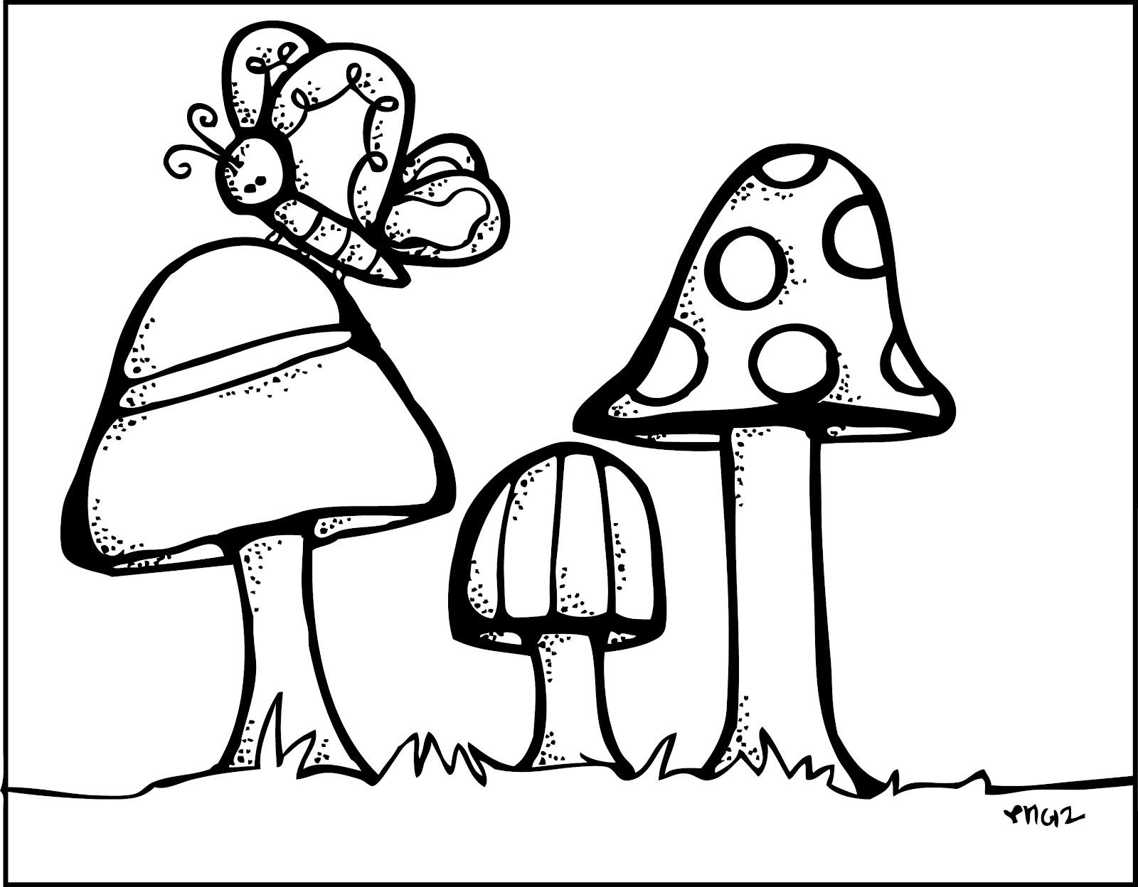 Melonheadz Mushroom Scene
