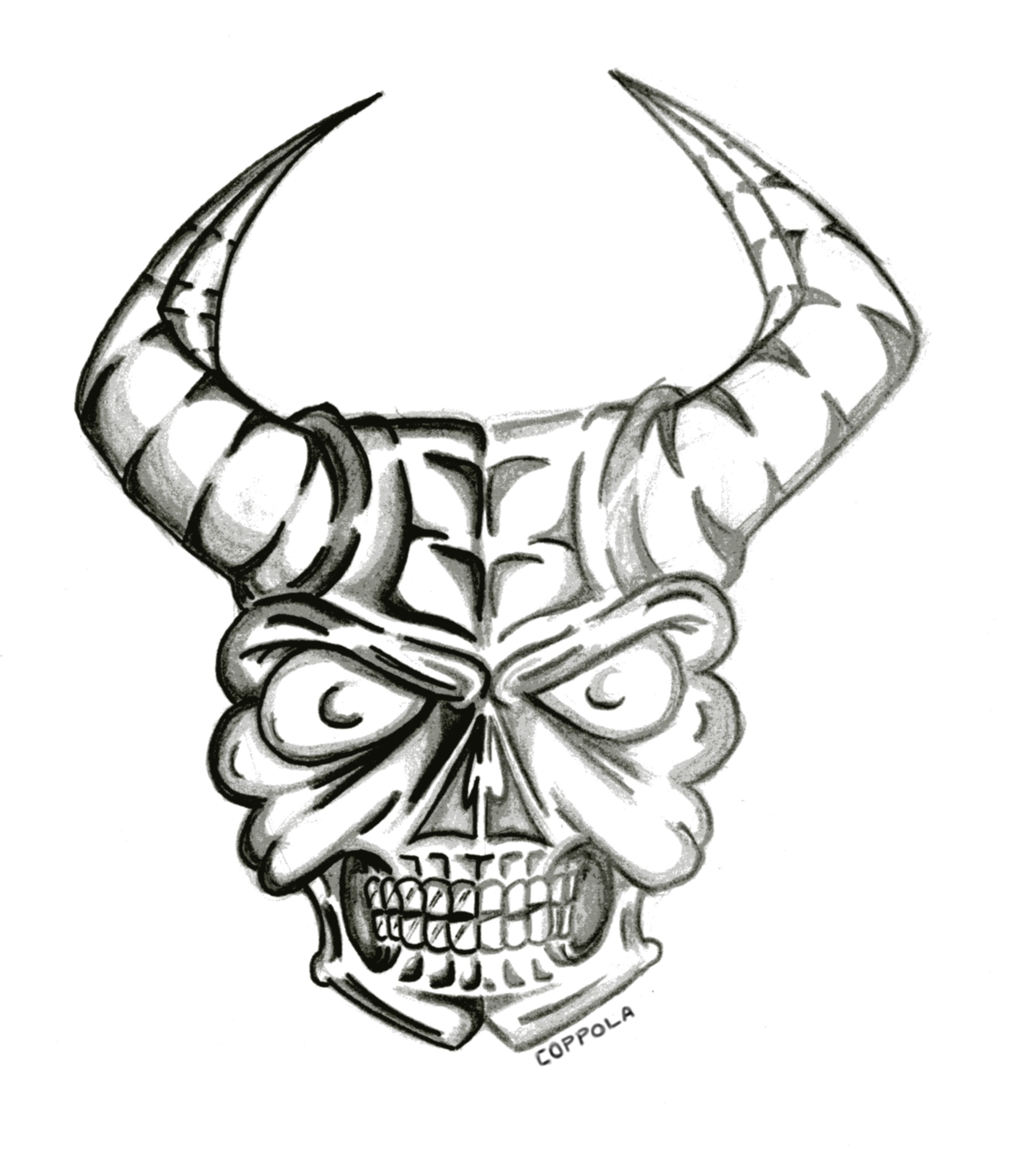 Free Skull Drawing Images Download Free Clip Art Free