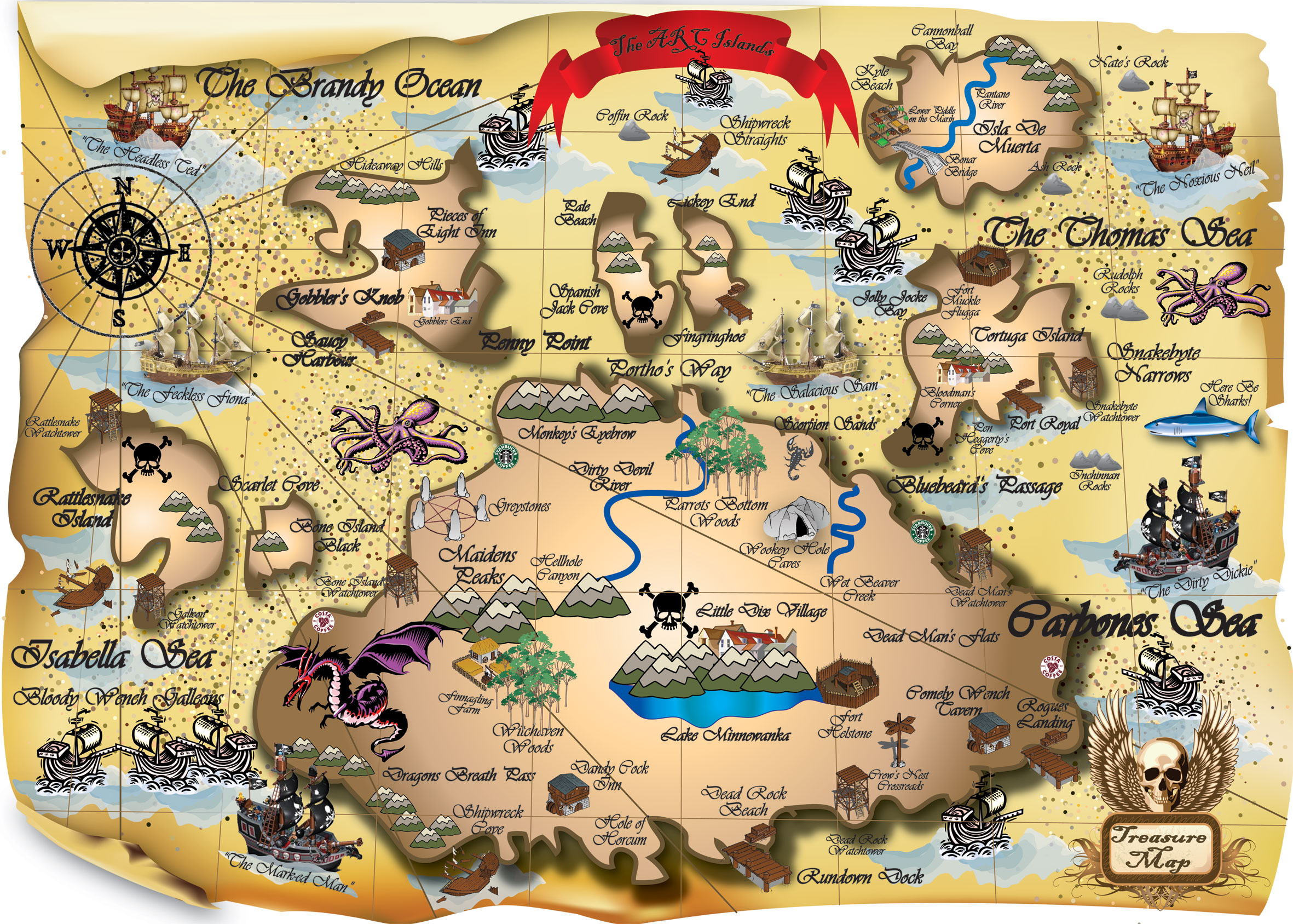 Free Pirate Map Download Free Clip Art Free Clip Art On