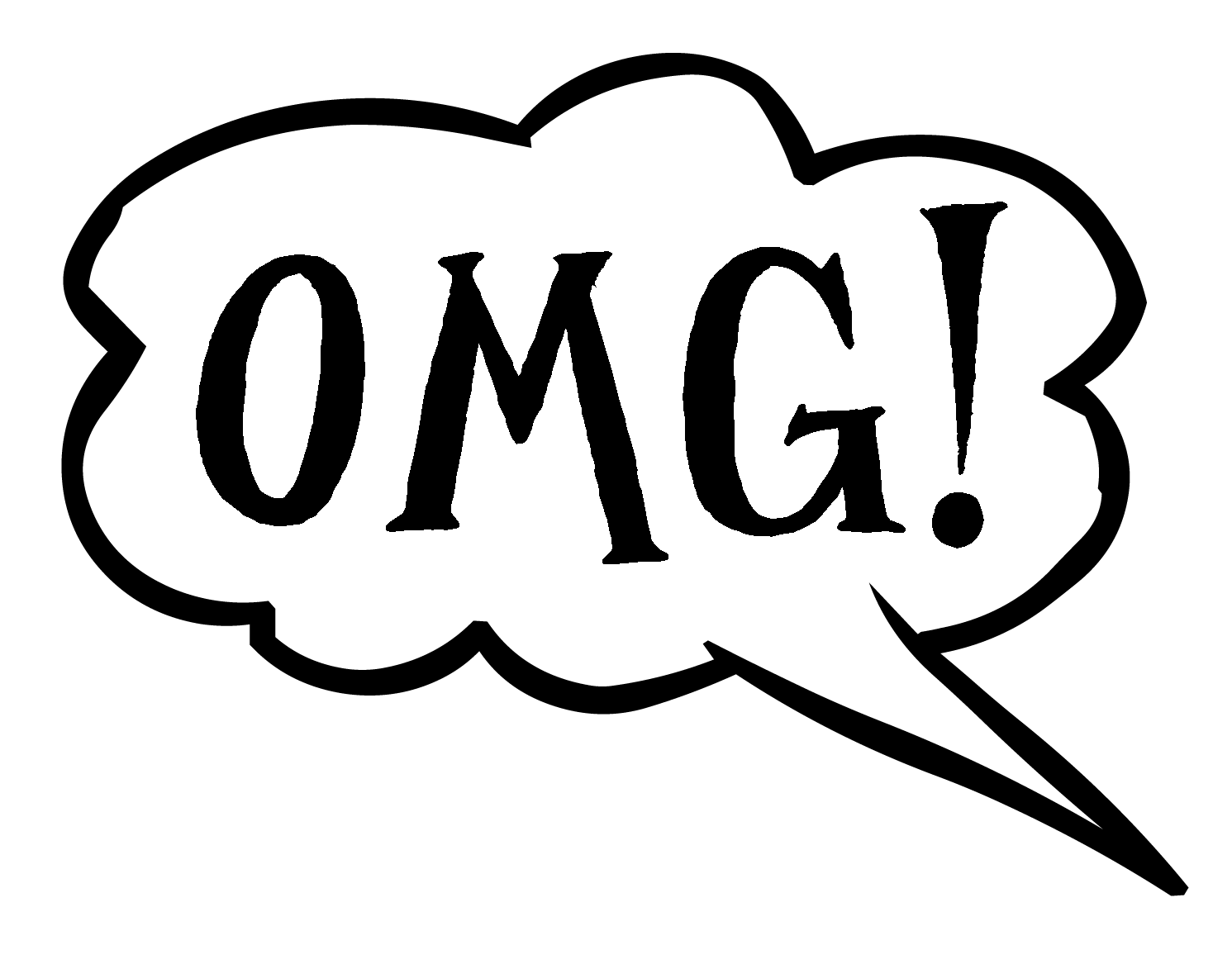 Free Speech Bubble With Oops Download Free Clip Art Free