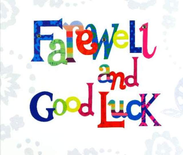 Farewell Pictures Clip Art