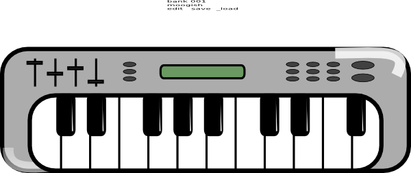 Free Piano Keyboard Clipart, Download Free Clip Art, Free