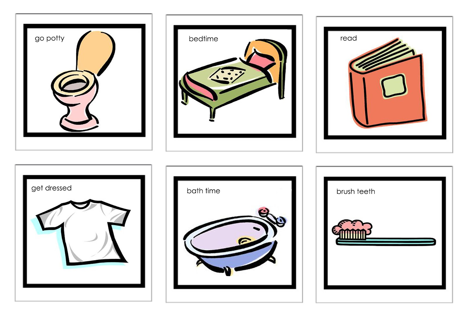 Free Bedtime Routine Pictures Download Free Clip Art