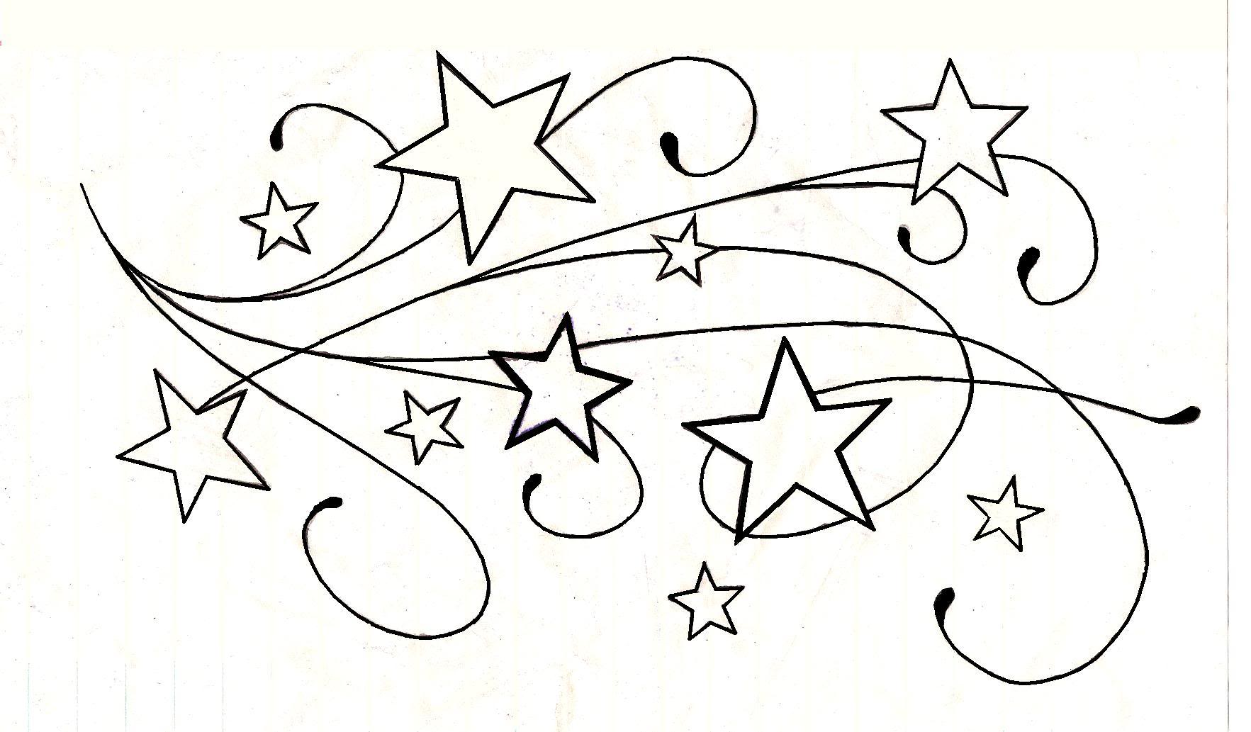 Free Drawings Of Star Tattoos Download Free Clip Art