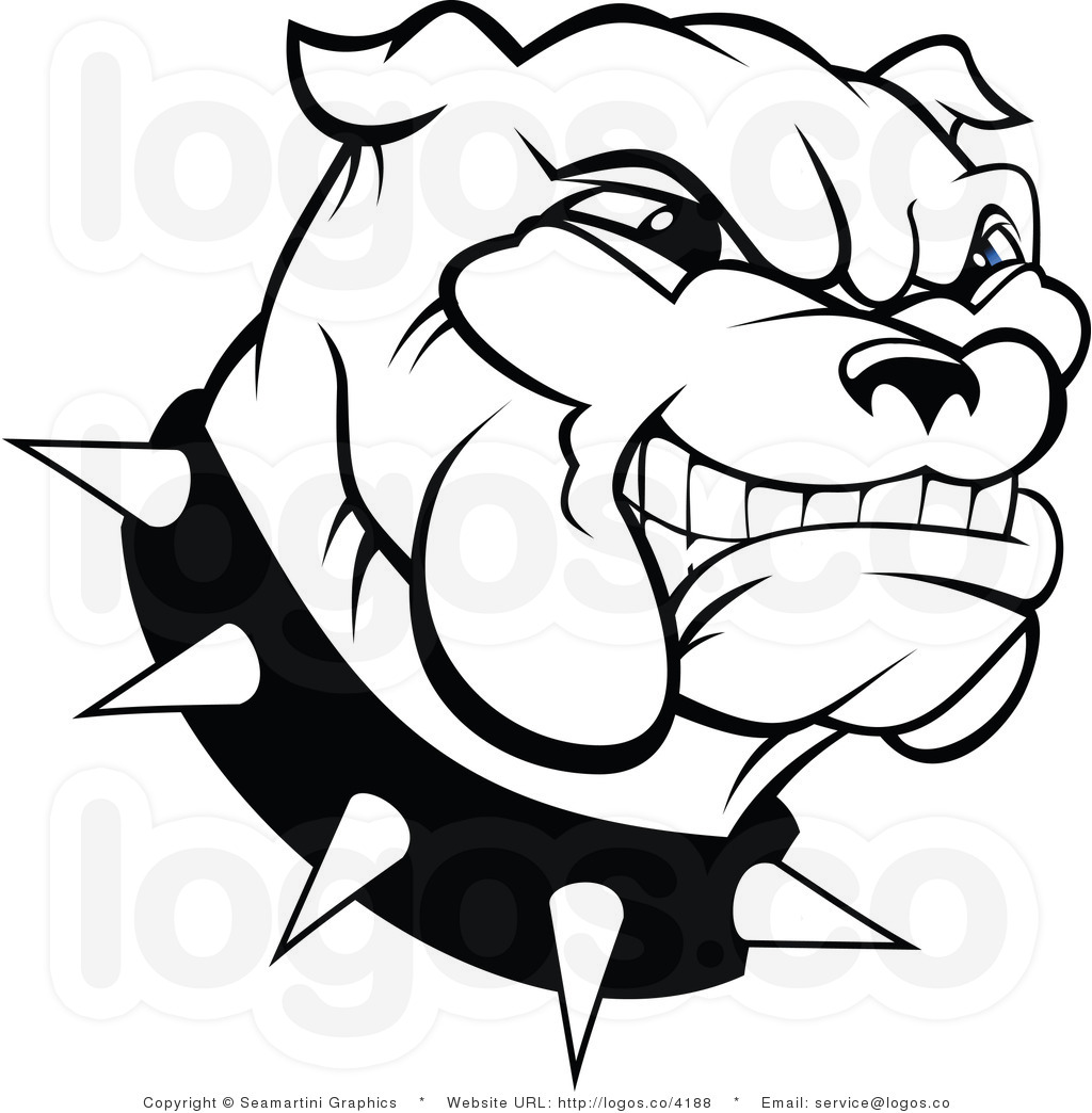 Free Bulldog Logo Face Cartoon Download Free Clip Art