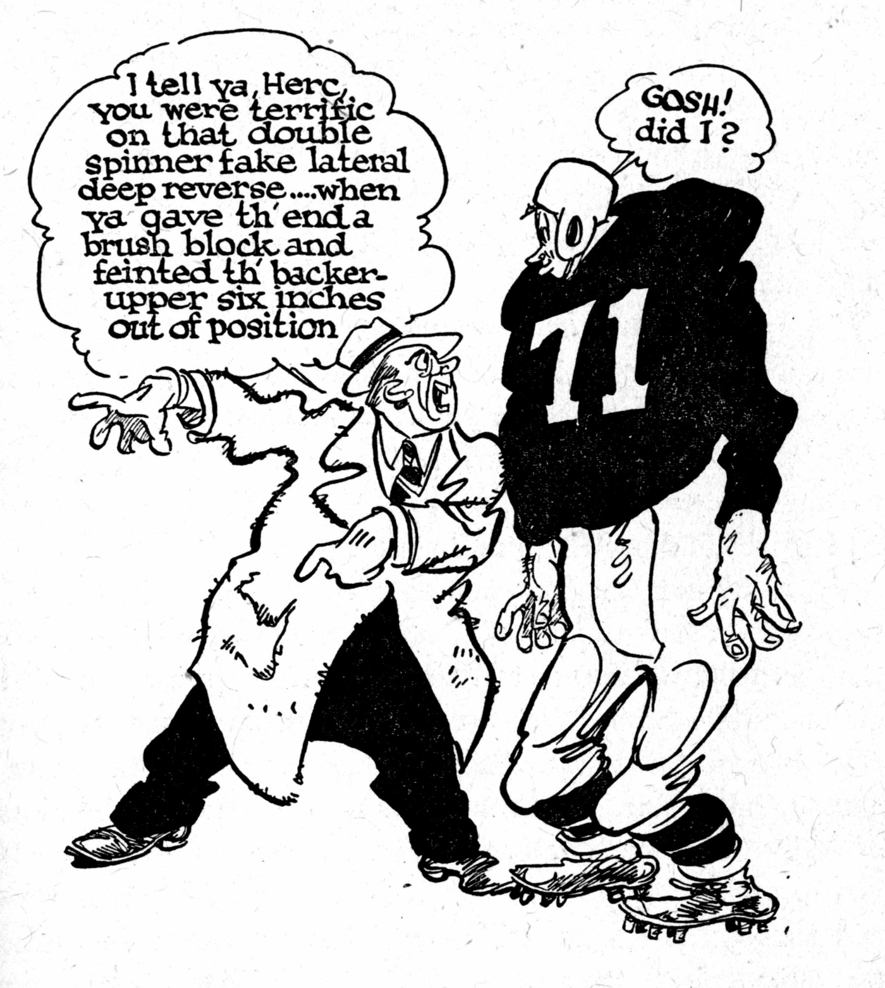 Cartoon Snap Baseball And Football Cartoons By Willard Mullin