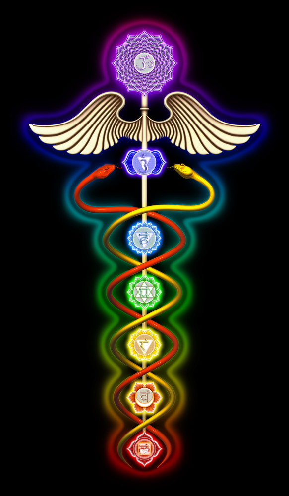Image result for dna snake caduceus psychedelic
