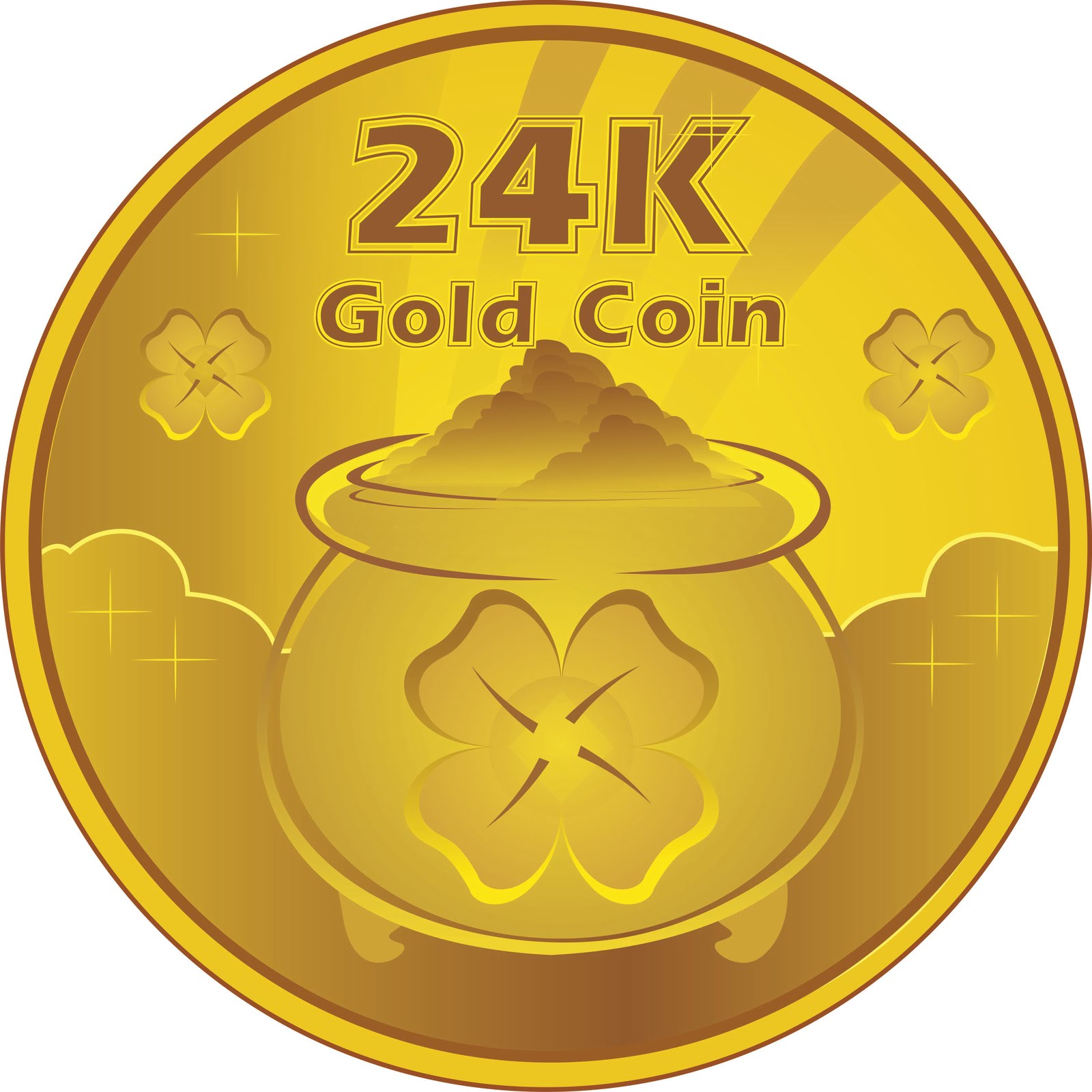 Free Gold Coins Picture, Download Free Clip Art, Free Clip ... (1600 x 1600 Pixel)