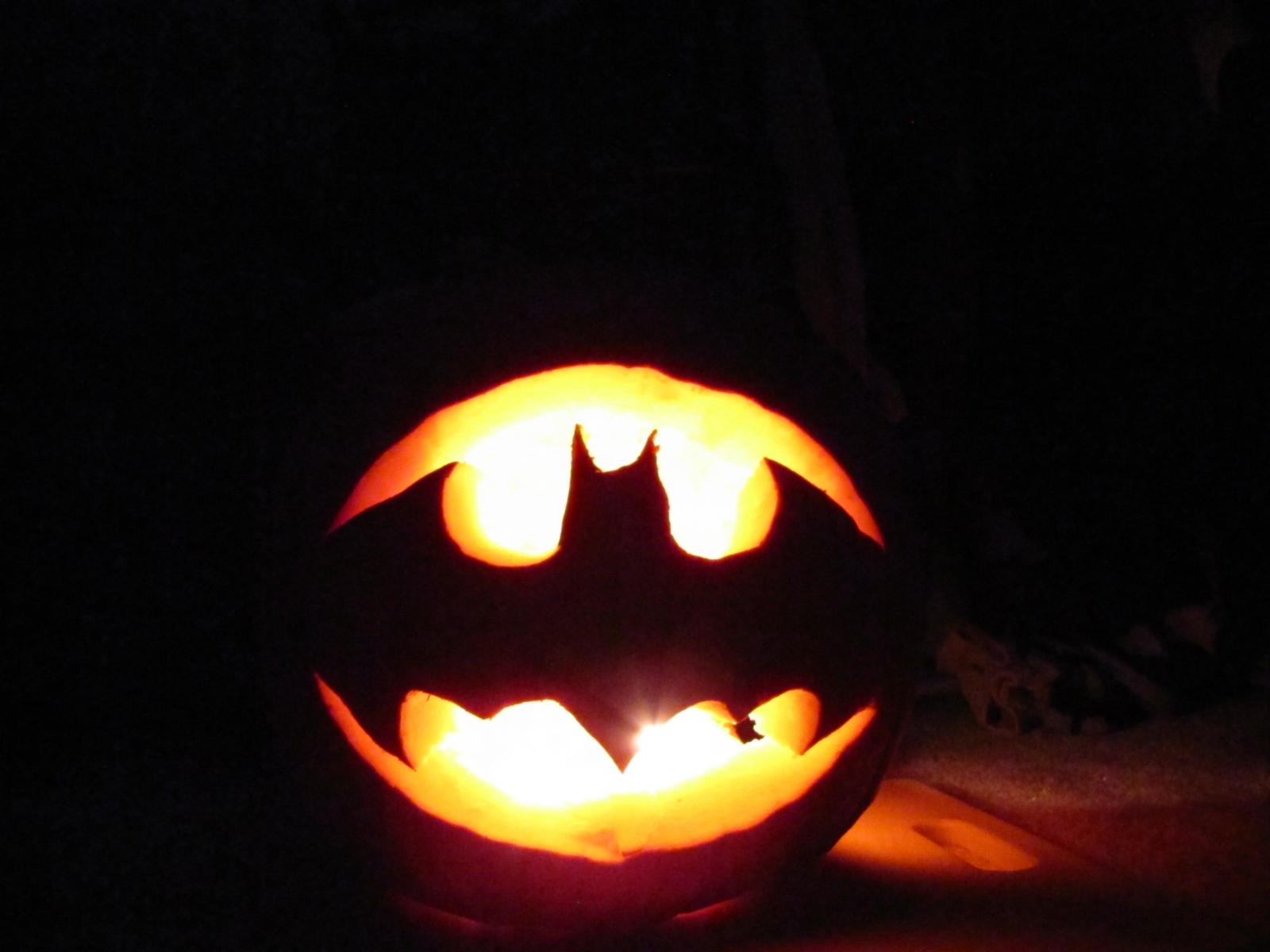 Batman Logo Pumpkin Stencil Images Pictures