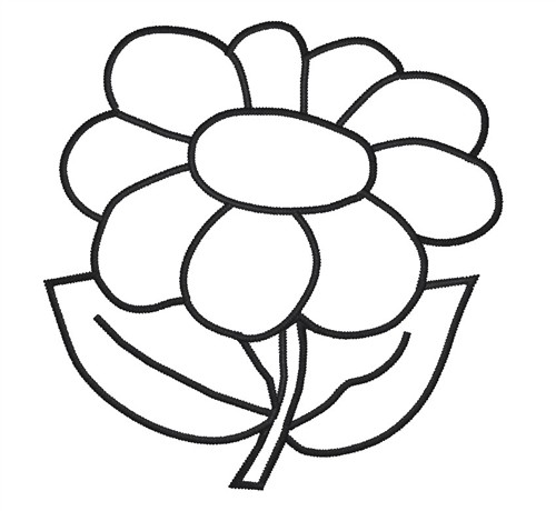 Free Outline Of Flowers Download Free Clip Art Free Clip Art On Clipart Library