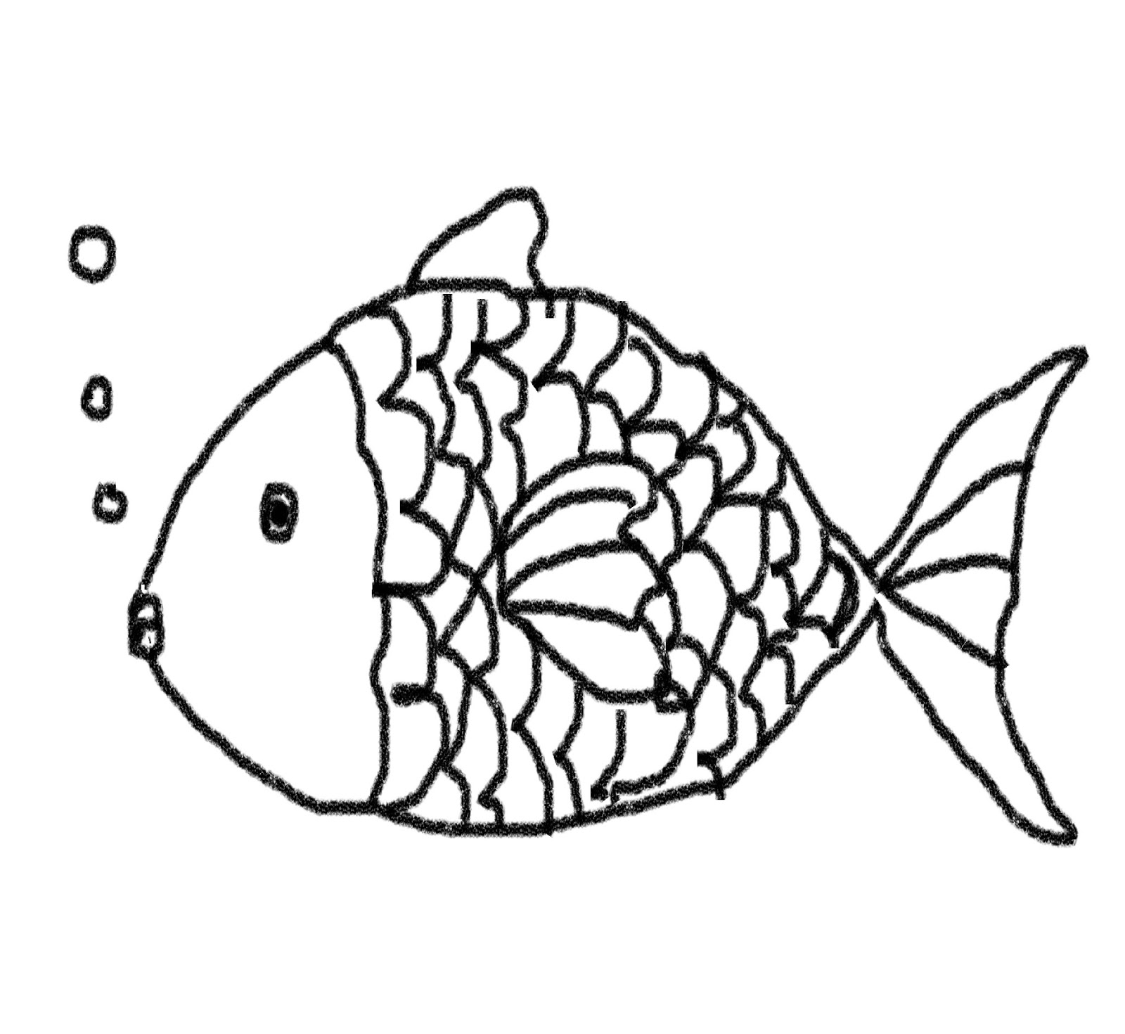 Images For Simple Fish Drawing