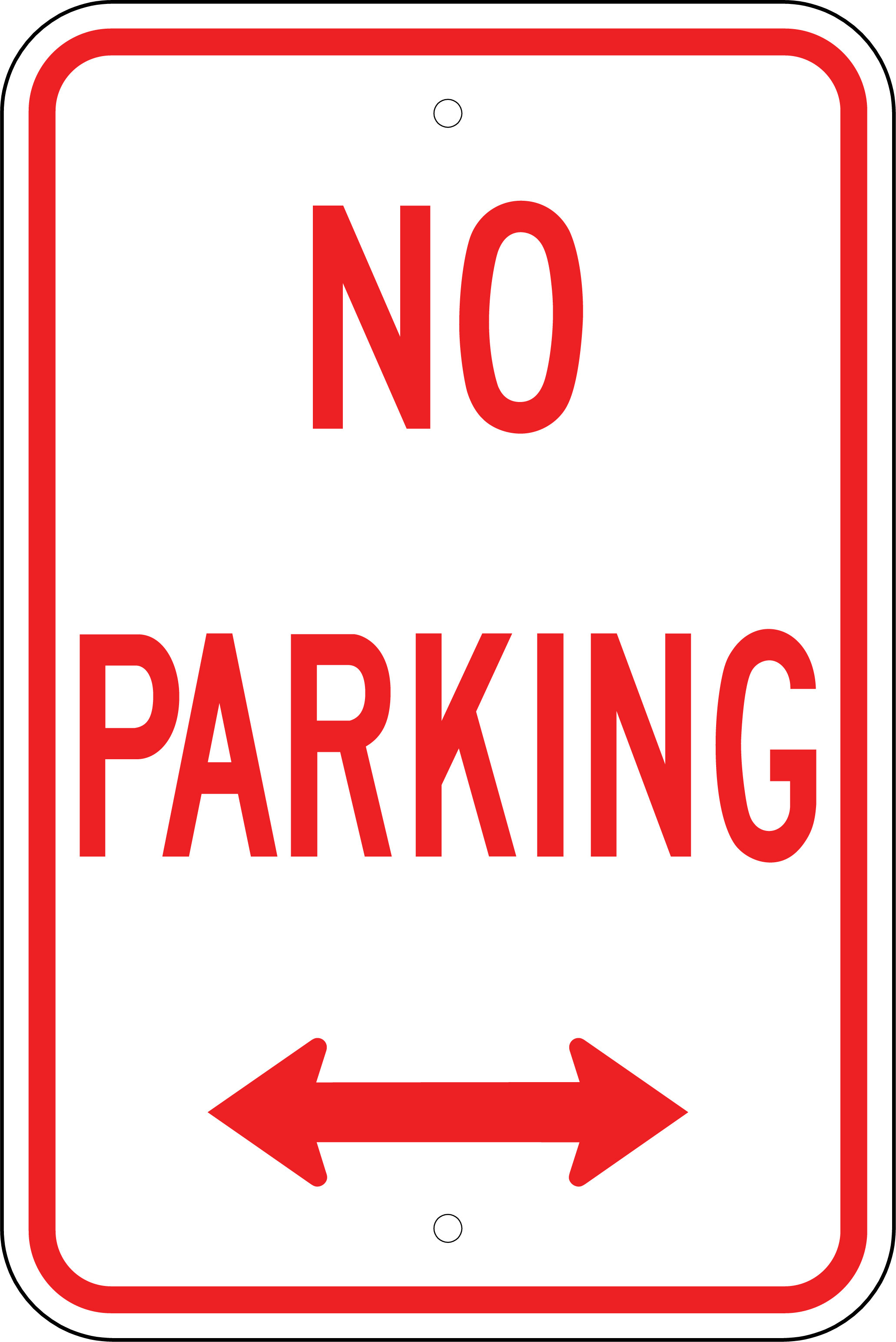 Printable No Parking Signs