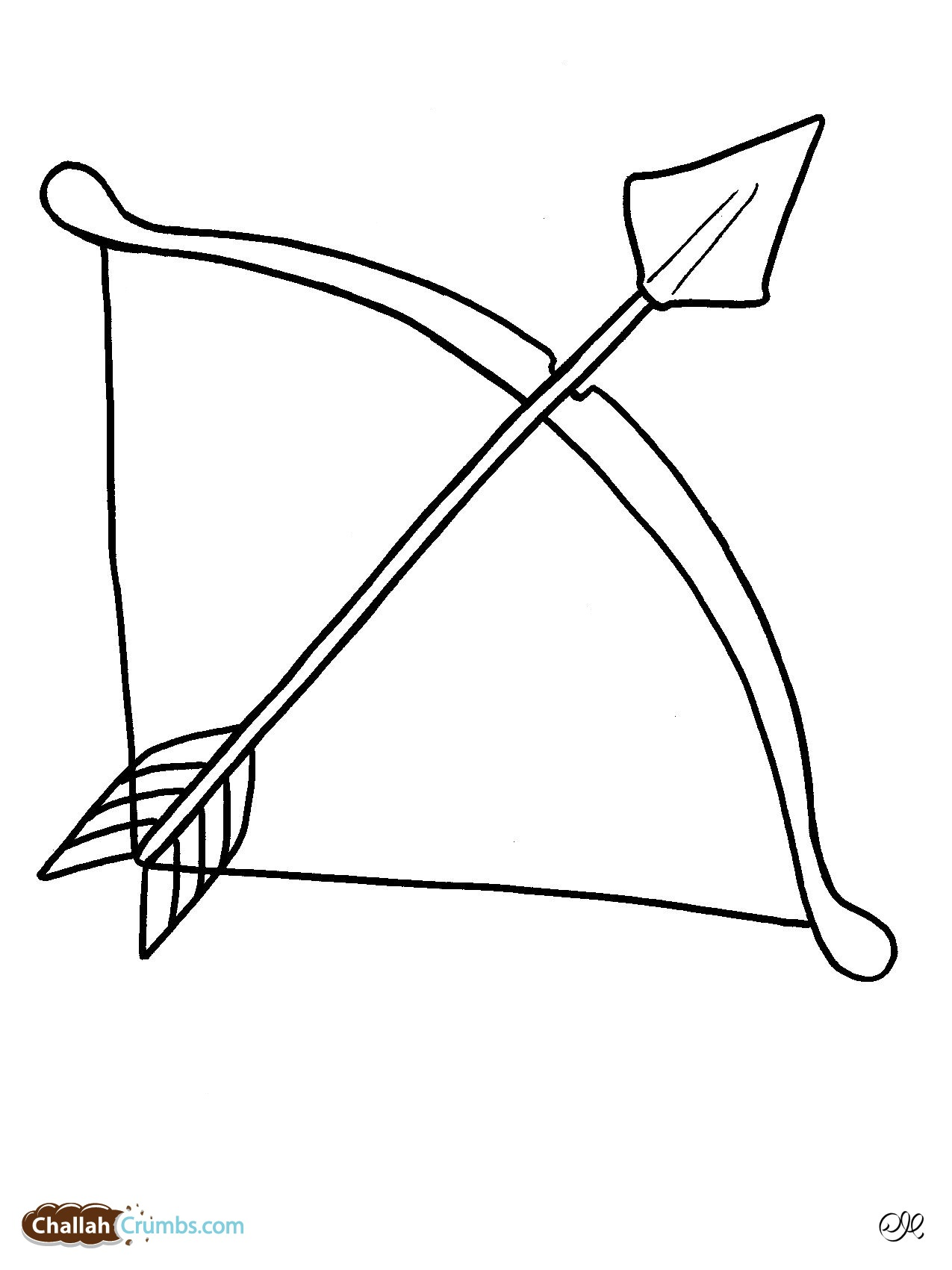 Free Bow And Arrow Black And White Download Free Clip Art Free Clip Art On Clipart Library