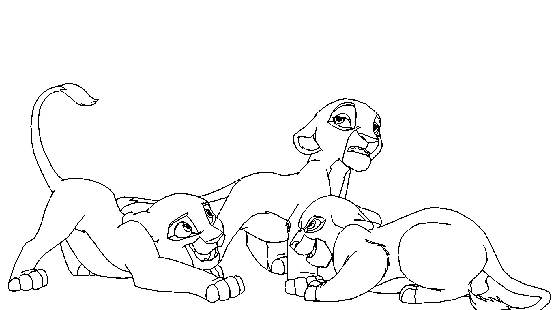 Free Lion King Cubs Download Free Clip Art Free Clip Art