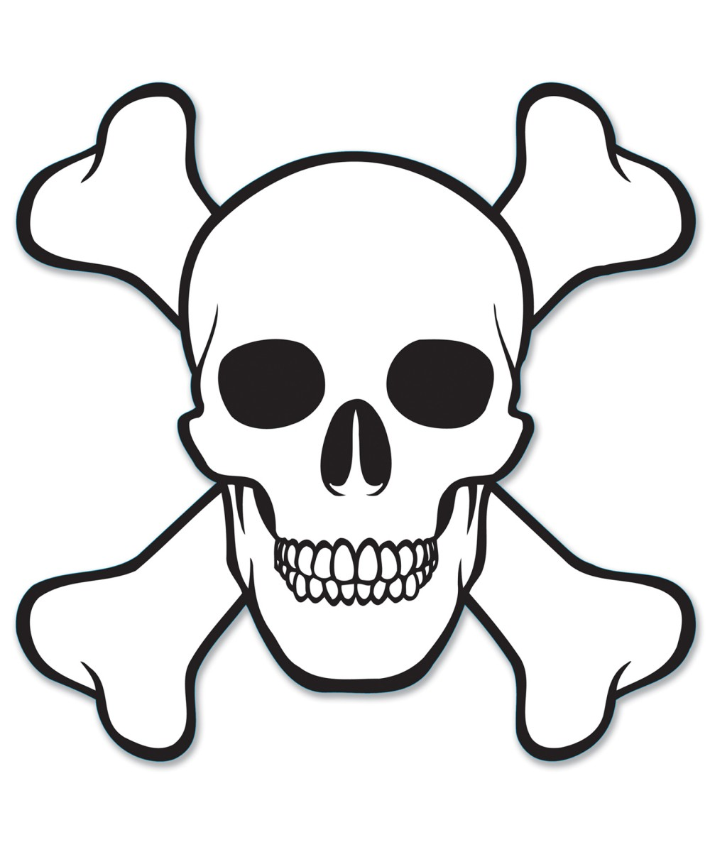 Free Skull And Crossbones Stencil Download Free Clip Art Free Clip Art On Clipart Library