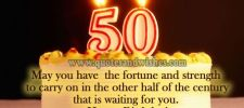 50th happy birthday quotes beautiful picture quotes whatsapp - 50th Birthday Wishes