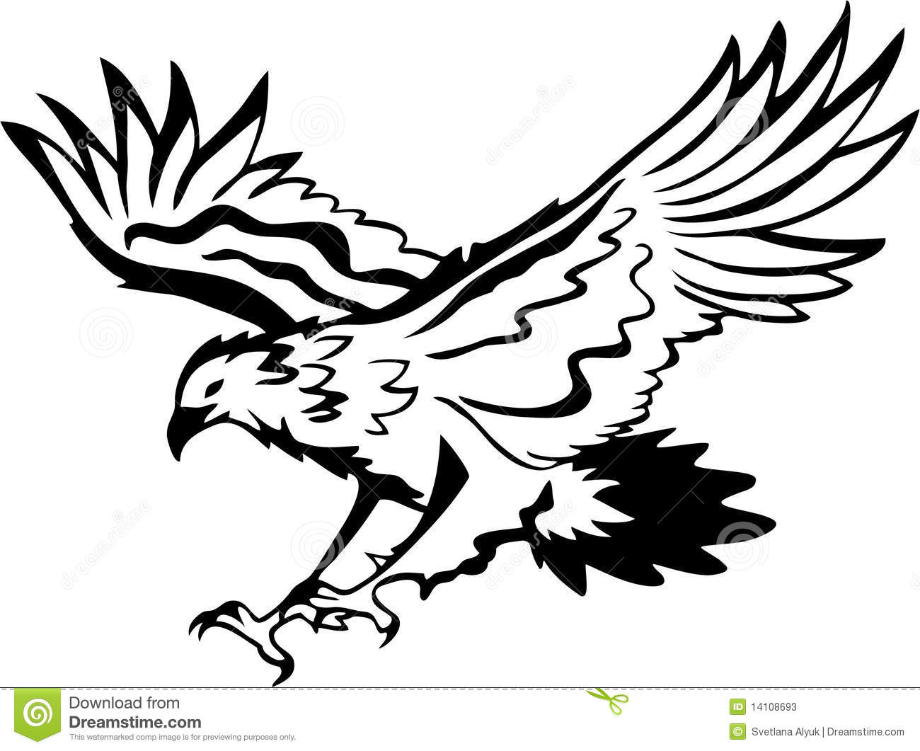 Eagle Pic Black And White