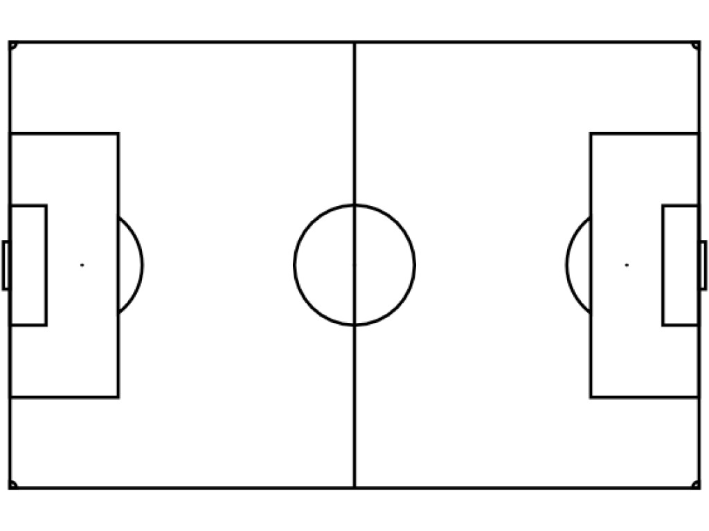 Free Blank Soccer Field Diagram Download Free Clip Art