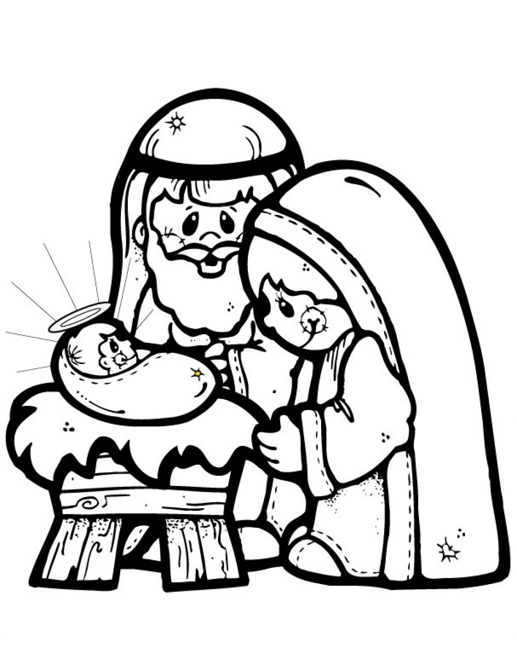 Free Cartoon Nativity Scene Download Free Clip Art Free