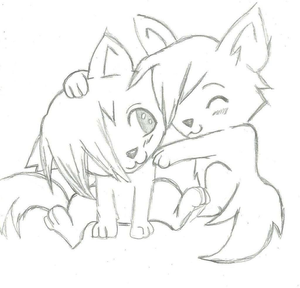 Free Simple Drawings Of Wolves Download Free Clip Art Free Clip Art On Clipart Library