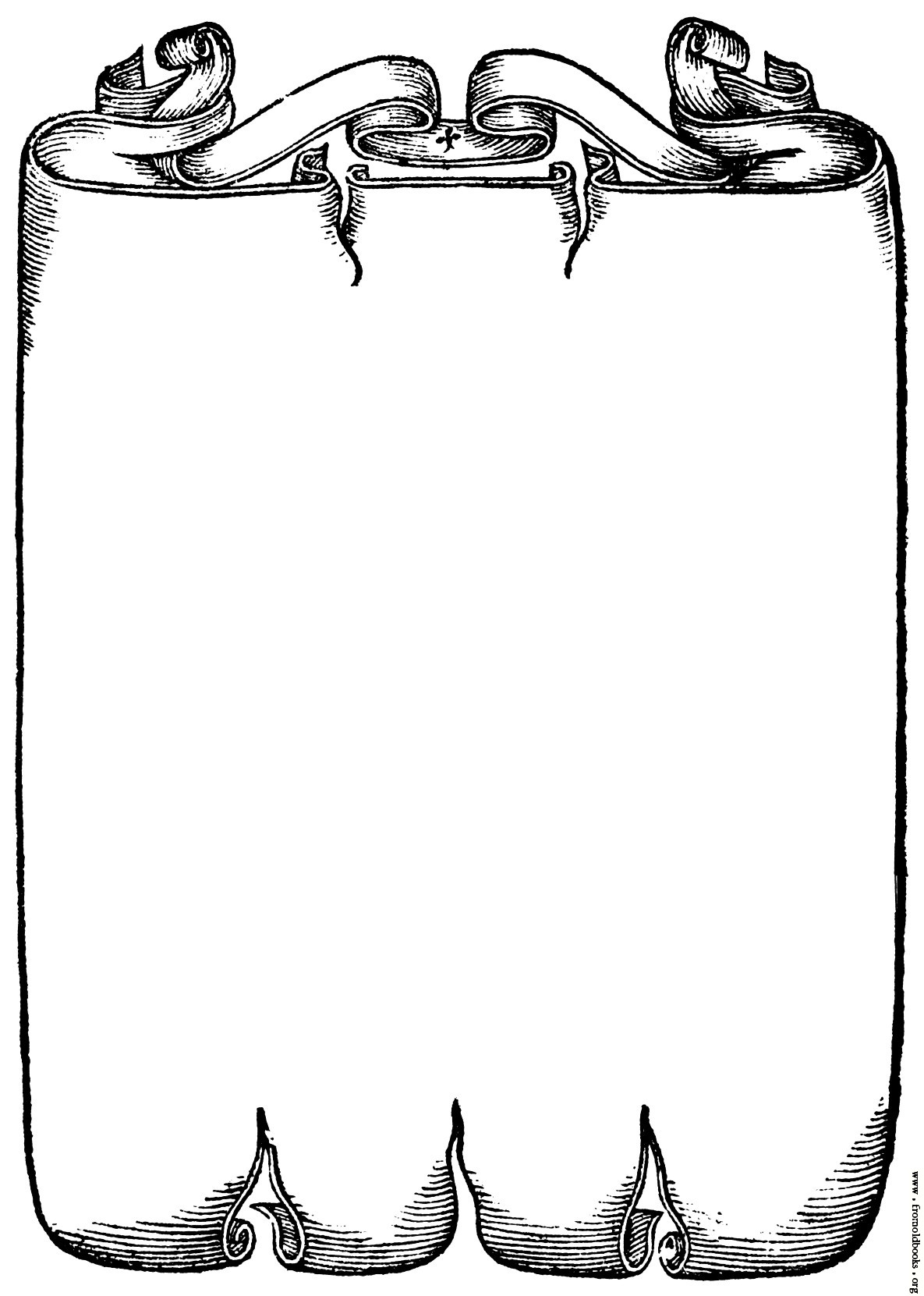 Scrollwork Border From Page 227