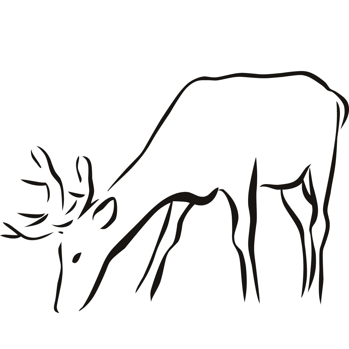 Free Animal Outline Download Free Clip Art Free Clip Art On Clipart Library