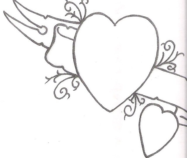 Simple Heart Drawing