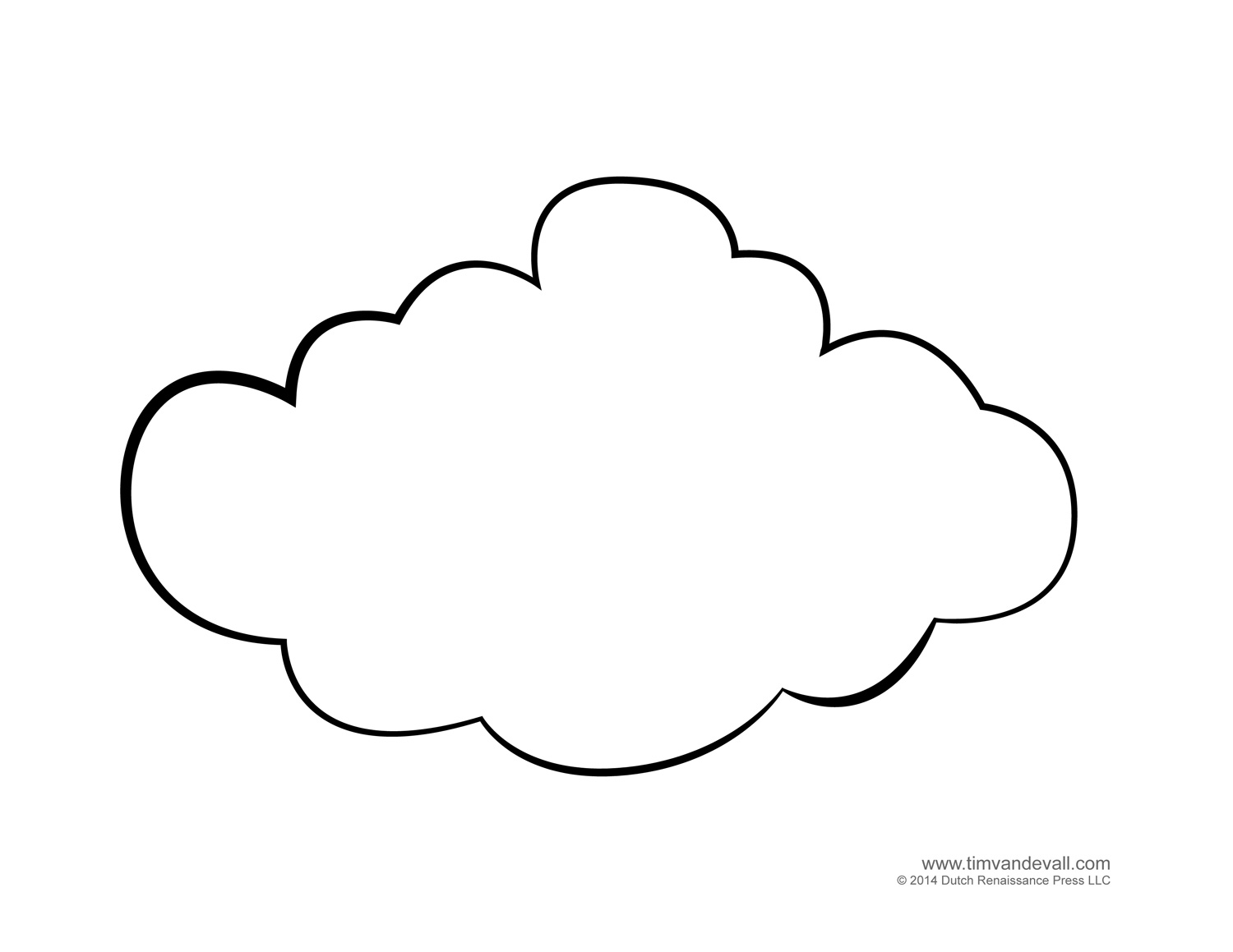 Free Cloud Template Download Free Clip Art Free Clip Art