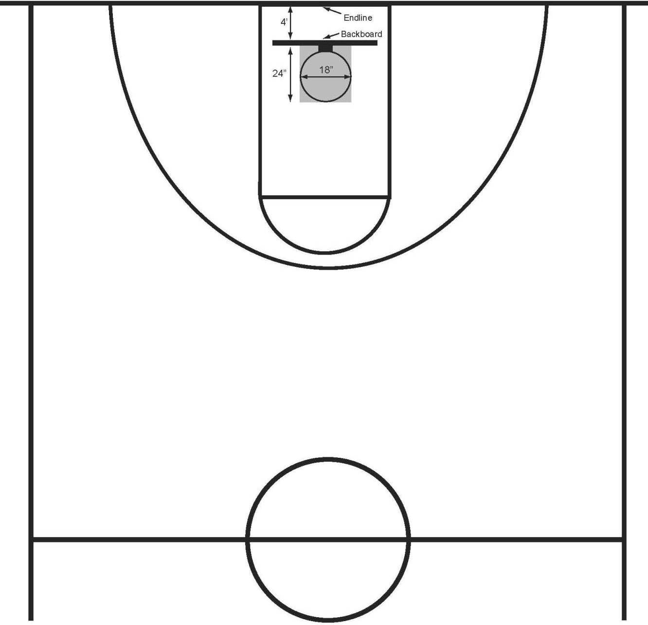 Free Basketball Court Clipart Download Free Clip Art