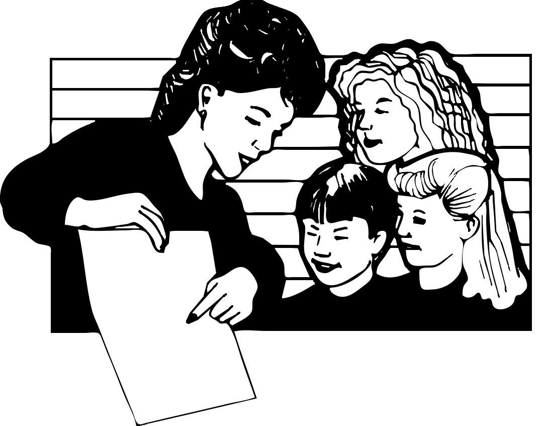 Public Domain Teacher Clip Art