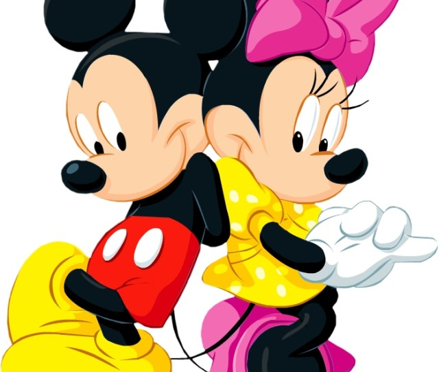 Mickey And Minnie Mouse Head Clip Art Clipart Library Free