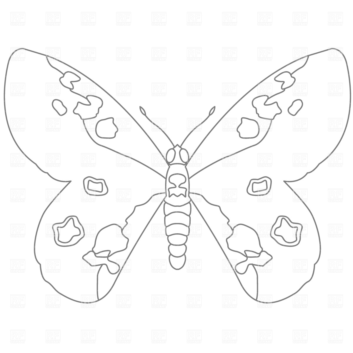 Free Butterfly Outlines Download Free Clip Art Free Clip Art On Clipart Library
