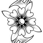 Free Tattoo Floral Designs Download Free Clip Art Free Clip Art On Clipart Library