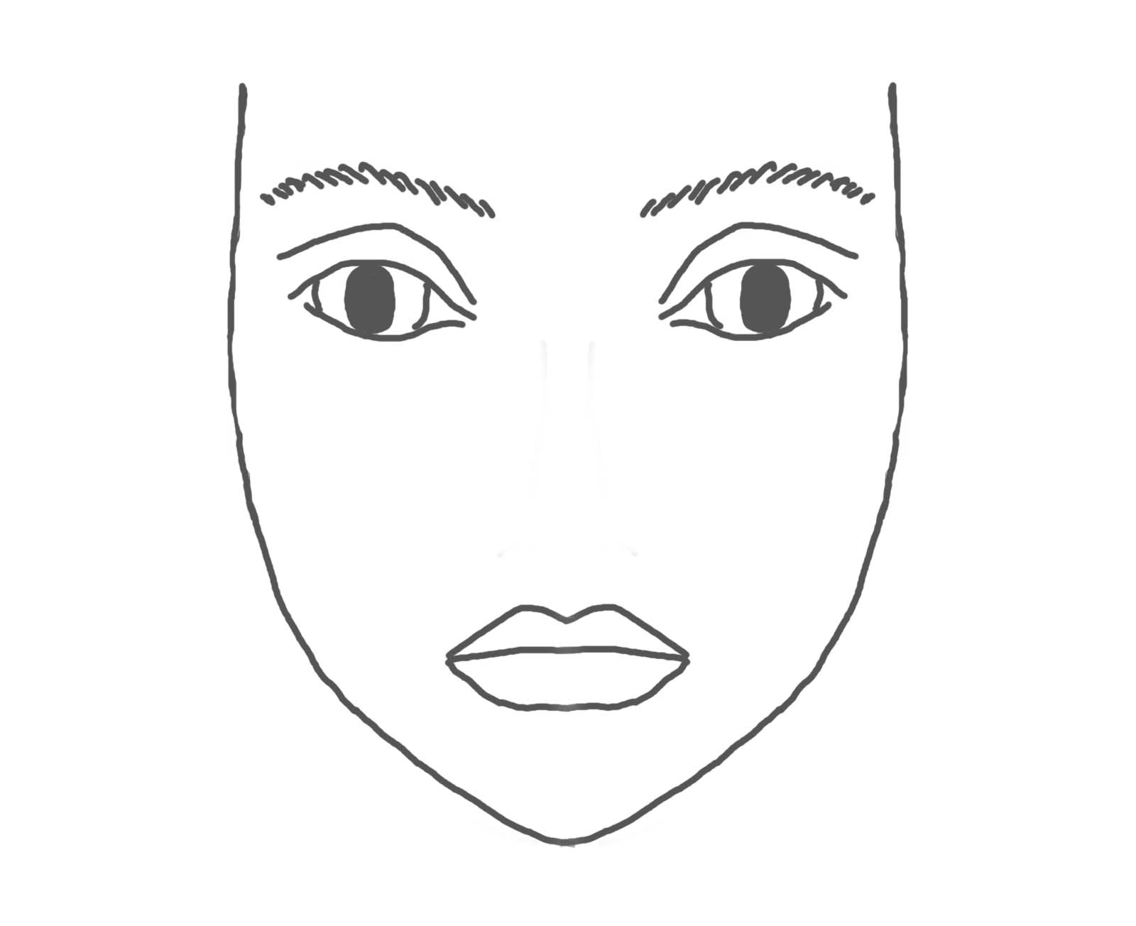 Free Blank Face Outline Download Free Clip Art Free Clip Art On Clipart Library